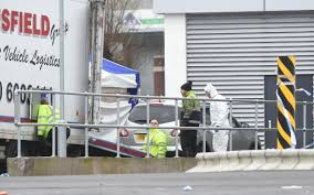 siege lidl lidl murder suspect in hospital as detectives wait to quiz him
