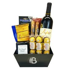 interior wine gift baskets faedaworks