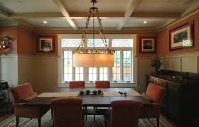 Chandeliers Craftsman Style Craftsman Style Dining Room Chandeliers With Mission Table Area