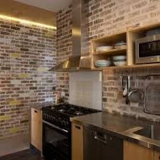 Stainless Steel Bench Top Sydney Passive Solar Kitchen Eclectic With Glazed Bricks Solid