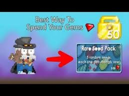 growtopia best way to spend your gems