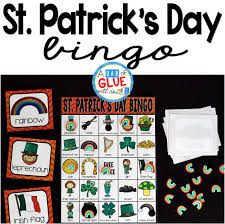 s day bingo bingo holidays growing bundle a dab of glue will do