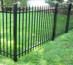 how much does it cost to install a iron fence vs wood meaning