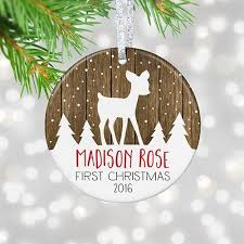personalized baby christmas ornament personalized baby s christmas ornament 2017
