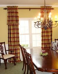 Dining Room Valance Curtains Dining Room Draperies This Dining Room Is A Less