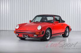 red porsche convertible 1987 porsche 911 carrera cabriolet stock 1987120 for sale near