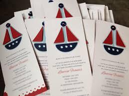 sailboat baby shower invitations 10 25 00 via etsy