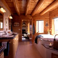 Cabin Bathrooms Ideas by Bathroom Likable Log Home Bathrooms Photos Bathroom Ideas Cabin