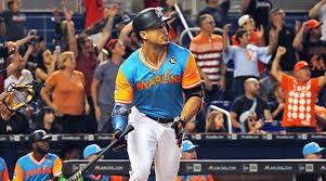 giancarlo stanton marlins jpg marlins giancarlo stanton looks to climb home run list si com