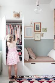 Bedroom Storage Hacks by Best 20 Closet Wall Ideas On Pinterest Built In Wardrobe Wall