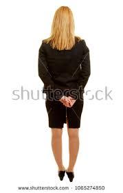 businesswoman taken back on stock photo 1065274850
