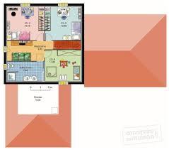 Plan De Maison En Longueur Maison Méridionale 1 Détail Du Plan De Maison Méridionale 1