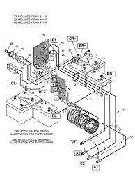 wiring 1982 ezgo electric golf cart wiring diagram battery