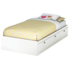 Best Buy Bed Frames White Childrens Single With Storage Headboard Sleigh