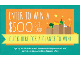how to win gift cards win a 500 gift card from whole foods market cupertino san mateo