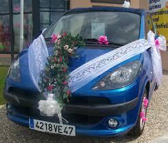 deco mariage voiture mariage décoration de voiture espace fête