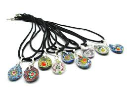 glass necklace pendants wholesale images Pendant in murano glass colv217 assorted colours murano glass jpg&a