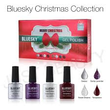 bluesky limited edition christmas 2015 collection 1 gel nail