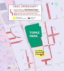 Furry Map How To Get To The Festival Topaz Park Victoria Highland Games