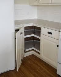 luxury corner kitchen cabinet in home interior ideas with corner