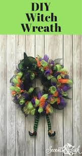 the 25 best witch wreath diy deco mesh ideas on pinterest