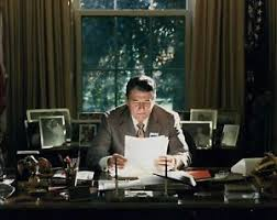reagan oval office president ronald reagan oval office 11 x 14 poster photo picture ebay