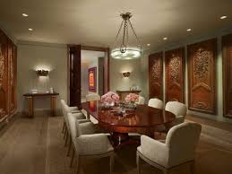 traditional dining room with pendant light u0026 hardwood floors