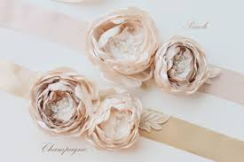 whimsical wedding silk flowers belt 2229554 weddbook