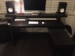 Malm Computer Desk Music Production Producer Desk Ikea Malm With Pull Out Panel