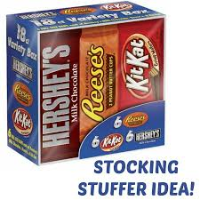 hershey u0027s candy bars only 0 52 each shipped great stocking