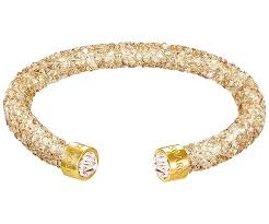 swarovski jewelry bracelet images Crystaldust cuff golden gold plating jewelry swarovski jpg