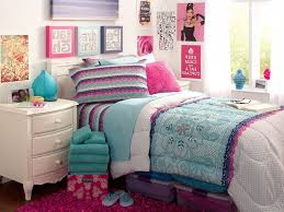 blue tween bedroom ideas floral pattern armless fabric chairs tall