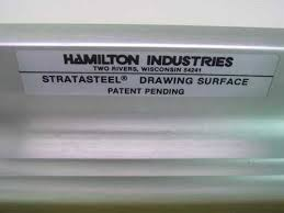 Hamilton Industries Drafting Table Hamilton Industries Vr20 Stratasteel 40 X60 Drafting Table W