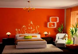 Bright Orange Paint by Apartments Charming Best Orange Bedroom Design Aida Homes