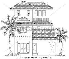 house drawings elevation house vector elevation house drawing vectors