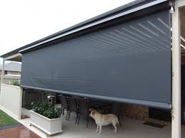 Motorized Screens For Patios Roll Up Blinds For Patio