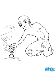 aladdin coloring pages drawing for kids reading u0026 learning