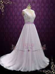 fairy tale wedding dresses purple fairytale wedding dress with lace and soft tulle sera