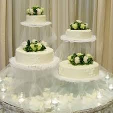 wedding cake stands and plates 102424 6 tier cascade wedding cake