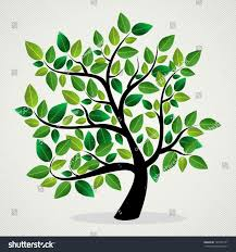 green leaf eco friendly tree design stock vector 145733141