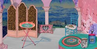 presenting gucci décor a collection of furniture and decorative
