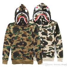 army pattern fleece 2018 hot male camouflage mouth sweatshirts army military men jacket