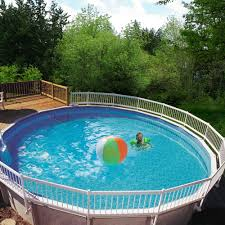 Plastic Swimming Pools At Walmart Gli Above Ground Pool Fence Add On Kit C 2 Sections White