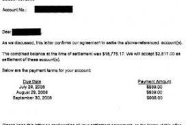 sample letters archives leave debt behind