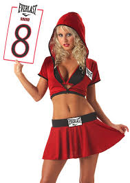 girl costumes california costumes women s everlast ring card girl