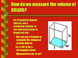 matter mass u0026 volume