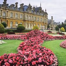 waddesdon manor gardens buckinghamshire uk traditional u2026 flickr