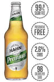 sodium in light beer hahn premium light light beer hahn brewers