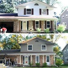 siding colors for red brick homes vinyl siding colors with red