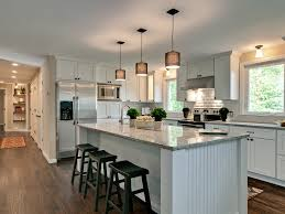 kitchen with large island southington ct builder relies on cliqstudios for quality